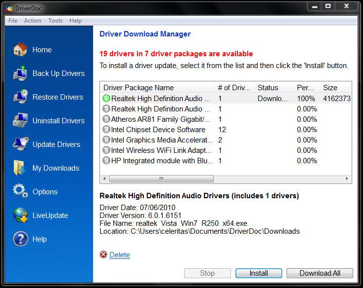 DriverDoc 1.8 L