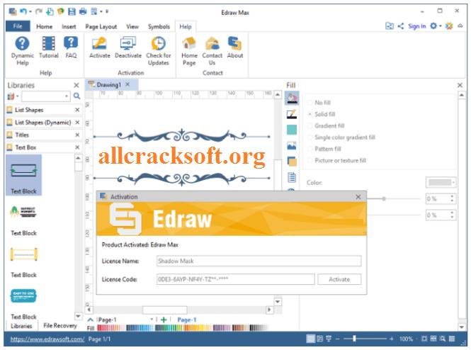 Edraw Crack v10.5.3 + License Key download from allcracksoft.org