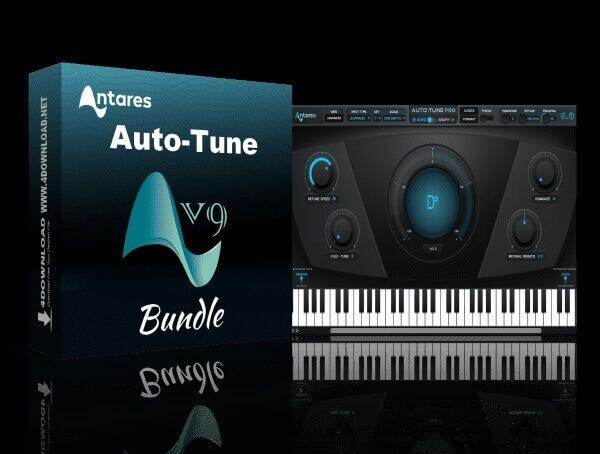 Antares AutoTune Pro 9.1.1 Crack download from allcracksoft.org