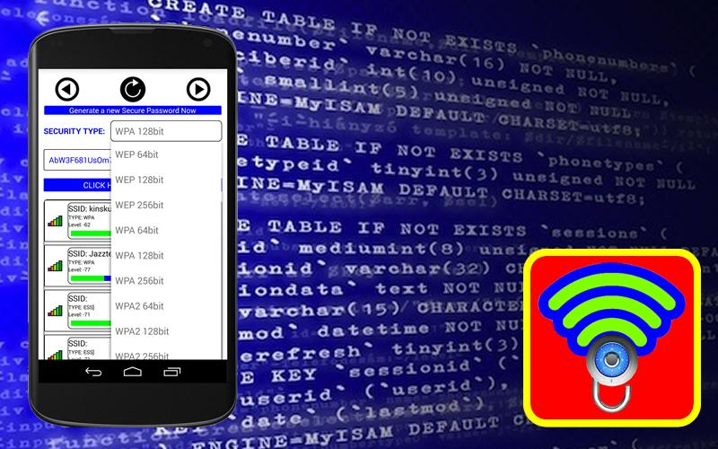 Wifi Password Pro Anti Hack for Android download from allcracksoft.org
